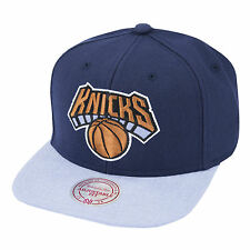 Mitchell & Ness New York Knicks Comando Snapback Cap-Navy/light Azul (BNWT)