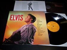 """Elvis Presley """"Elvis"""" LP insert Simply Vinyl – 07863677361 Europe 2000"""