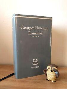 Georges Simenon - Romanzi Vol. II (Adelphi, La Nave di Argo)