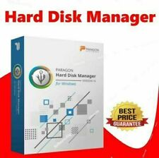 PARAGON HARD DISK MANAGER 16 ADVANCED - FOR ALL WINDOWS - DOWNLOAD