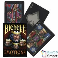BICYCLE EMOTIONS PLAYING CARDS DECK POKER USPCC JOHNNY WHAAM MAGIC FINISH NEW