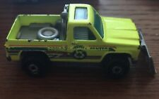 Hot Wheels Path Beater Day-Glo Yellow Ecology Center Truck