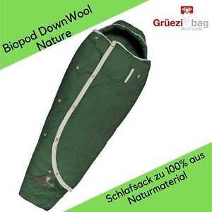 Grüezi Bag - Biopod DownWool Nature - Schlafsack