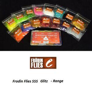 Frodin Flies - SSS Glitz Dubbing *** New 2021 Stocks **