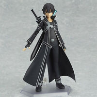 SAO Action Figure Kirito Anime Sword Art Online Figurine Figma Toys Collection