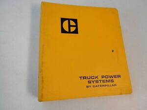 Caterpillar Truck Power Systems Manual March 1979 ~ 3400, 3306, 3208