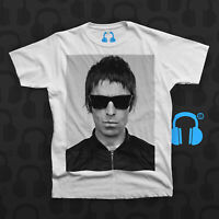 Music Threads Unofficial Noel Gallagher singer Oasis icon charcoal crew t-shirt