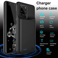 Battery Phone Case Wireless Charger Power Bank For Samsung Galaxy S20 Ultra Plus