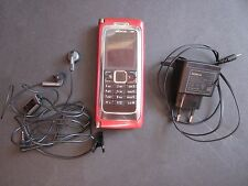 Nokia E Series E90 Communicator - Red (Unlocked) Smartphone