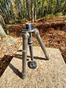 """📸 Gitzo Gilux G026 Reporter Aluminum Tripod 15""""-55"""" 4 Section. All good & solid"""