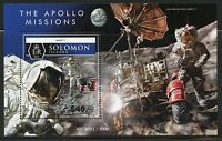 SOLOMON ISLANDS 2015 THE APOLLO MISSIONS SOUVENIR SHEET MINT NH