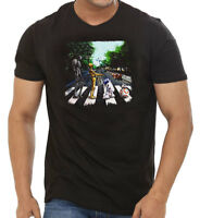Droids Abbey Road T Shirt Starwars Mashup Funny Tee From Popular Movie