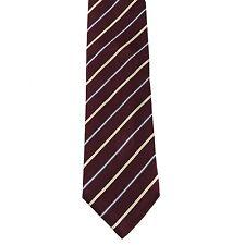 "Charles Jourdan Men's 100% Silk Striped Neck Tie Purple 3 7/8"" x 58"""