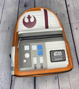 Loungefly Star Wars Luke Skywalker Rebel Mini Backpack NWT 707 Exclusive In Hand