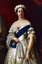 New 5x7 Photo: Portrait of a Young Queen Victoria of Great Britain, by Melville