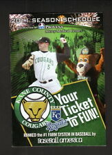 2011 Kane County Cougars Schedule--Fox Valley Orthopedics