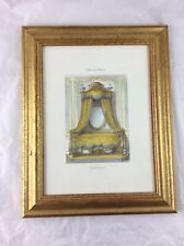 Shabby Chic Louis XVI Bed French Gilt Framed Picture Interiors