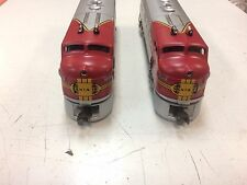 Lionel 38312 Santa Fe F3-AA Twin Diesel Engines # 2343 New in Box Conv. Classics