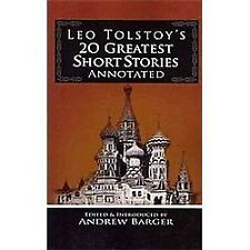 Leo Tolstoy's 20 Greatest Short Stories by Leo Tolstoy (2009, Paperback)