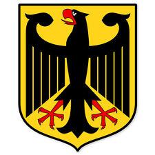 "Germany German Coat of Arms bumper sticker 4"" x 5"""