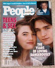 People 1990 Katharine Hepburn Chris Elliott Jade Jagger