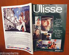 Rivista ULISSE novembre 2001 alitalia praga varenne mira sorvino sky team vendo