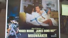 JAMES BOND 007 MOONRAKER LOBBY CARD SET! ROGER MOORE