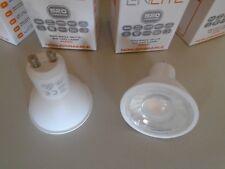 2 x Aurora Enlite EN-GU005 LED GU10 5W Non-Dimmable Bulb Lamp 4000K Pack of 2
