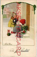 Zwischenkriegszeit (1918-39) Kunst-& Kultur-Ansichtskarten für Weihnachten