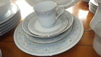 Vintage China Dinnerware set Princess by Crown Ming service 6 hostess set EUC 33