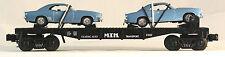 MTH 30-7634 MTH Auto Transport Flatcar w/Ertl '69 Camaros