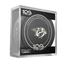 2017 NHL Nashville Predators Stanley Cup Playoffs Official On-Ice Hockey Puck