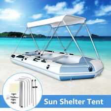 New 2 Person Sun Shelter Fishing Inflatable Boat Tent Rubber For Awning Boat