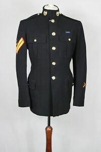 "Genuine British Army Royal Marines No.1 Dress Tunic Corporal Uniform 43"" Chest"