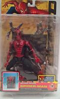 "~ Spiderman 2 - MARVEL TOY BIZ 6"" ACTION FIGURE & TENTACLE ATTACK BASE 2004 RARE"