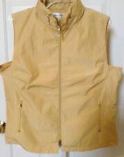 Sport Haley Vest size L  Zip Front