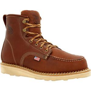 Georgia Boot USA Wedge Moc Toe Work Boot