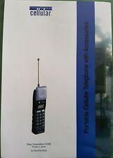 Vintage Sony Portable Cellular Phone Handbook