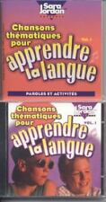 Chansons thematiques pour apprendre la langue (CD with Book) (French-ExLibrary