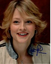 Jodie Foster Signed Autographed Photo
