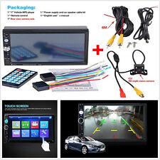 "7"" 12V Car Radio Bluetooth V2.0 Car Stereo HD Touch Screen MP5 Player FM Audio"