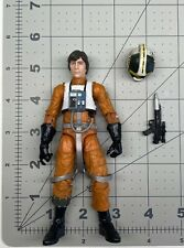 """1/12 scale Star wars 6"""" figure black series ANH Xwing pilot Wedge Antilles loose"""