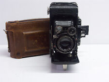 Zeiss Ikon Super Ikonta C with 10.5cm Triotar lens Model 530/2 with case
