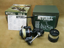 Mitchell 308S Reel Browning Era 1978-84 Mint In The Box with Papers  Spool NICE