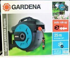 GARDENA Comfort Wand-Schlauchbox 25 roll-up automatic: NEU + OVP