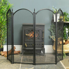 Nursery Stove Fire Screen Guard Child Safety Wood Fireplace Burner Protection