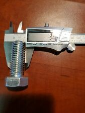 "3/4""-10 × 2"", Steel Hex Tap Bolt, Grade 8, 61 Pk"