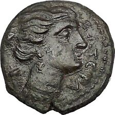 Syracuse Agathocles King of Sicily 295BC Artemis Thunderbolt Greek Coin i51553
