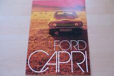 212716) Ford Capri Prospekt 06/1972