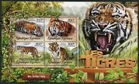 TOGO 2016 TIGERS  SHEET MINT NEVER HINGED